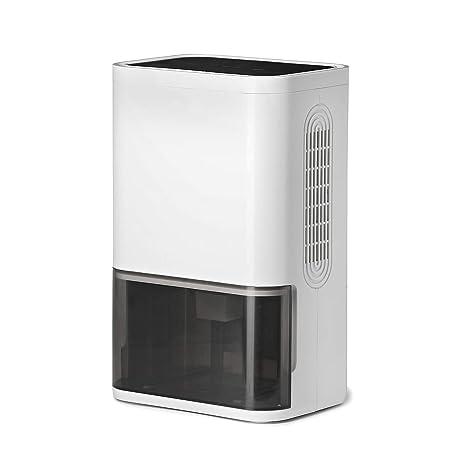 LUKO compacto y portátil mini deshumidificador 1800mL, silencioso tecnología de semiconductor, purificador de aire