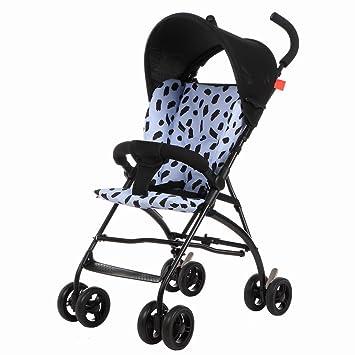 Sillas de paseo Carritos de bebé Ligeros Paraguas de suspensión bebé Ultra- Ligero Transporte portátil de Cuatro Ruedas de los niños Carrito Carrito de bebé ...