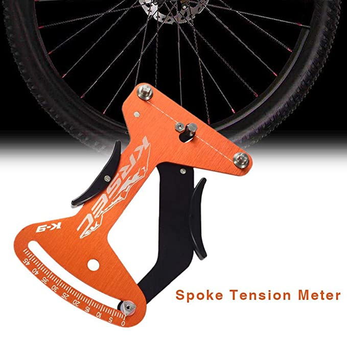 Enjoyyouselves Anillo de la Rueda del Juego de Ruedas de tensión del Alambre de Acero del radiador de tensión de la Bicicleta para la Herramienta de Ajuste ...