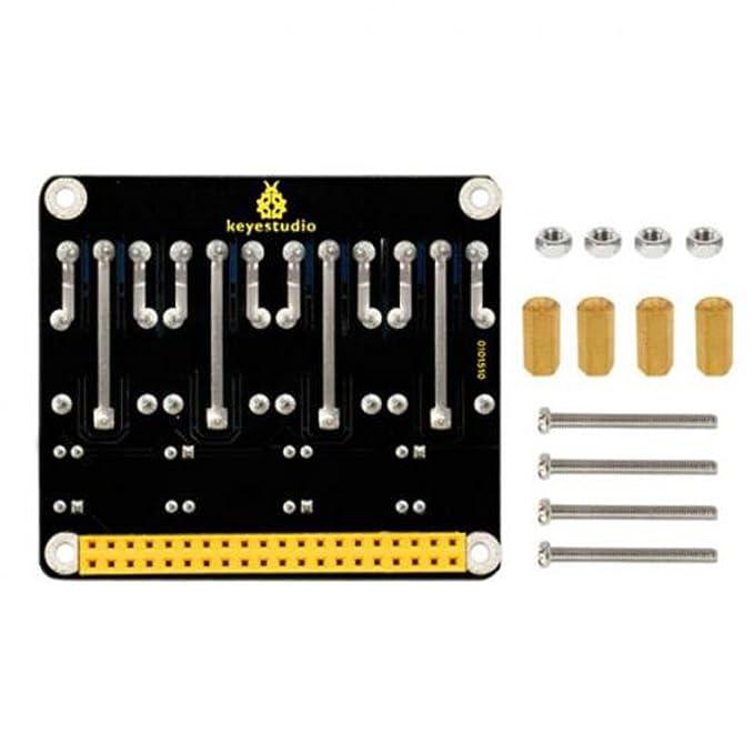 Baoblaze RPI 5V Relais Platte Modul 5V Relais Schild f/ür Raspberry Pi