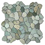#8: Sea Green Pebble Tile