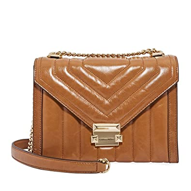 latest design get cheap promotion Michael Kors Whitney Large Quilted Leather Shoulder Bag ...
