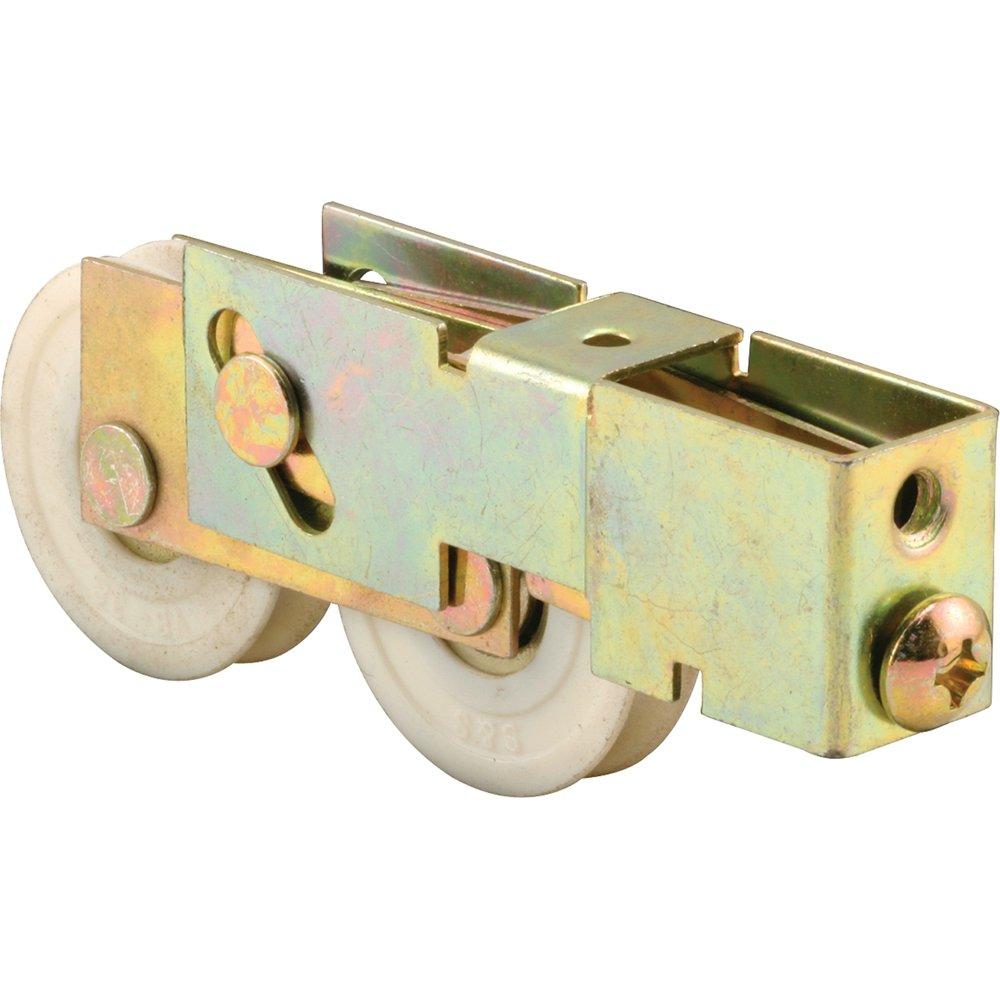 Slide-Co 133861 Sliding Door Tandem Roller Assembly 1-1//2 Nylon Gold Zinc