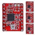 UEB 4Pcs A4988 Stepper Motor Driver Module 3D Printer Polulu StepStick RepRap