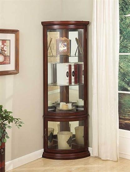 JGW Furniture Corner Cabinet