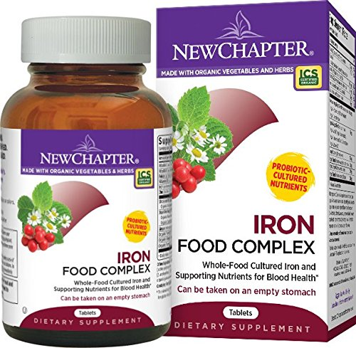 New Chapter Iron Food Complex Ingredients