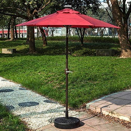 GREATT Parasol Exterior for Cargar en el Exterior, 2.5 m, 30 LED ...
