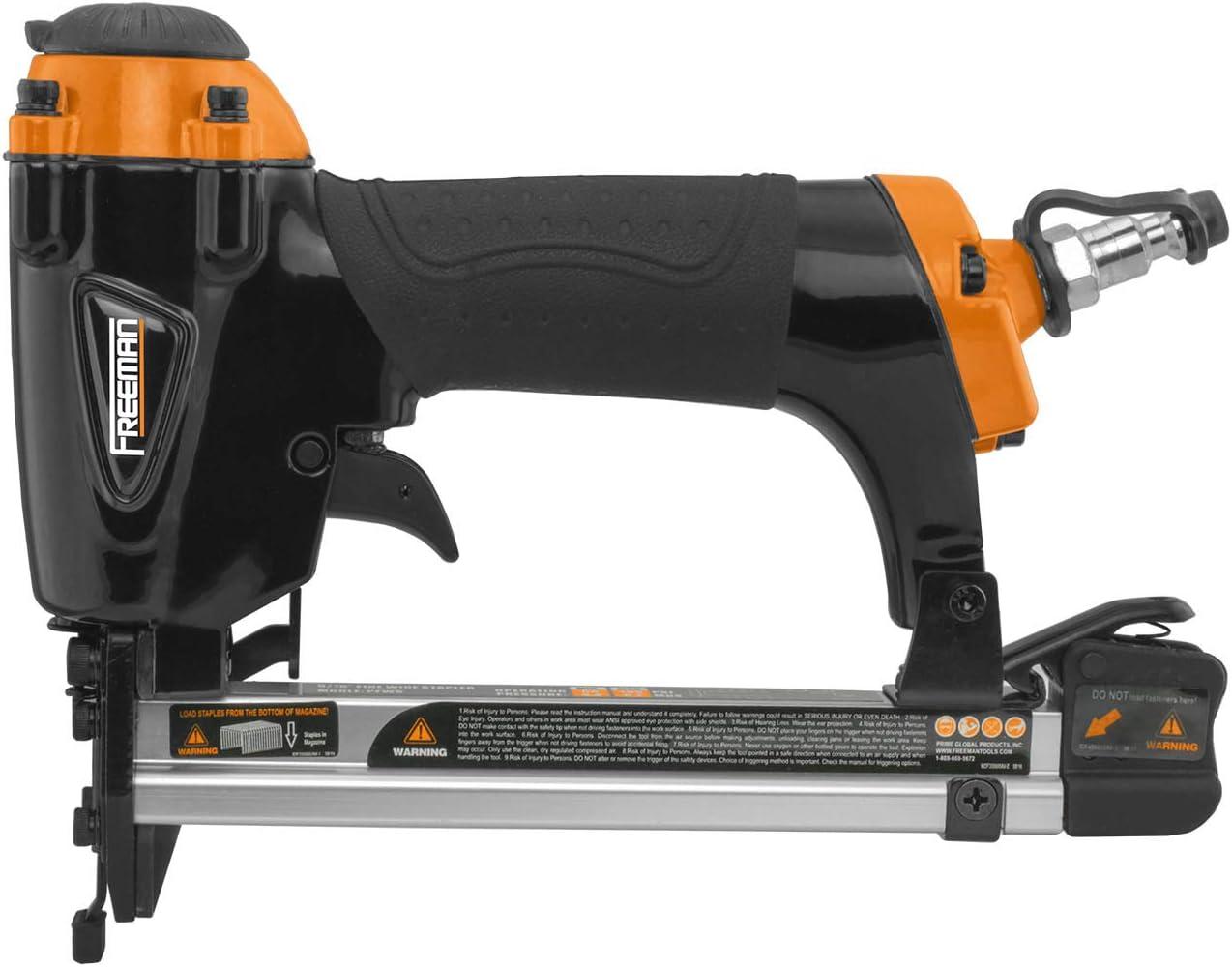 Air Pneumatic Staplers Staple Gun Upholstery Wire Framing Fine Stapler Tool