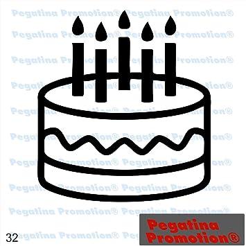 Piktogramm Typ 32 Icon Symbol Zeichen Torte Geburtstag Kuchen Happy