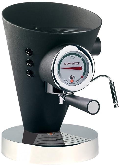 Bugatti Casa 15-Divan Cafetera, 950 W, 0.8 litros, Negro: Amazon ...