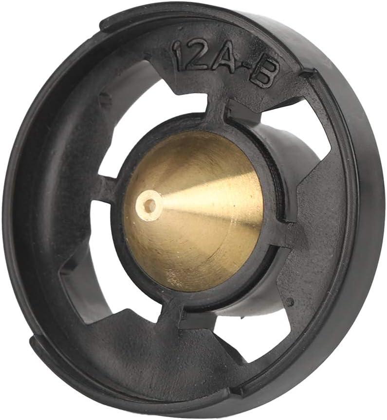 Boquilla de Pistola de latón, kit de Reemplazo de Latón de Alta Calidad 0.5mm / 1.0mm / 1.3mm / 1.8mm / 2.5mm Para Pulverizador de Pintura HVLP/Pistola de Pulverización Eléctrica(1.0mm)