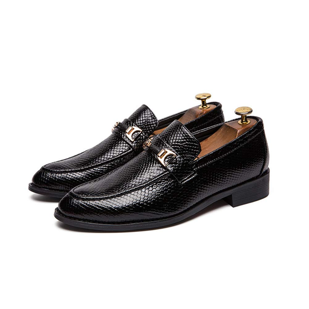 Men ' S Business Formal schuhe, Lace-Up Lace-Up Lace-Up British Hair Stylist Men Wedding schuhe for Party & Evening,a,38  023663