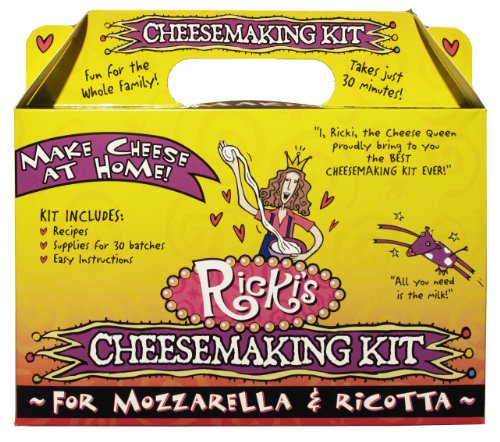 Mozzarella and Ricotta Cheese Making Kit image