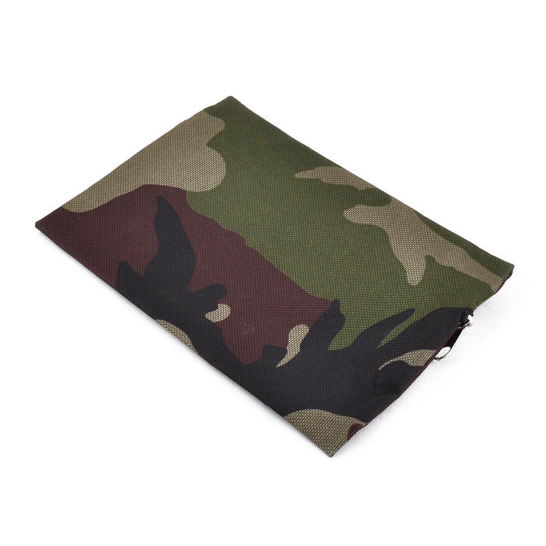 Amazon.com: eDealMax Oxford Tela patrón de camuflaje acampar al aire Libre de primeros auxilios de emergencia de rescate Bolsa de almacenamiento Verde: Home ...