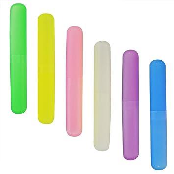 Amazon.com: Caja de plástico para cepillo de dientes ...