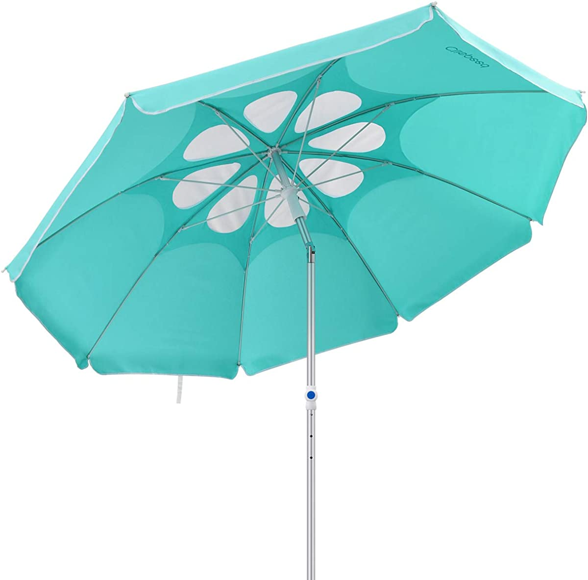 CLISPEED 7 Feet Beach Umbrella