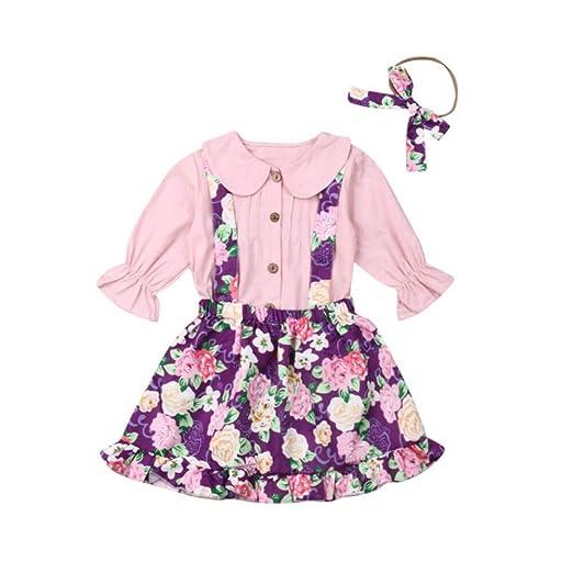 Wang-RX Conjunto de Traje de Falda de Vestido de Babero ...