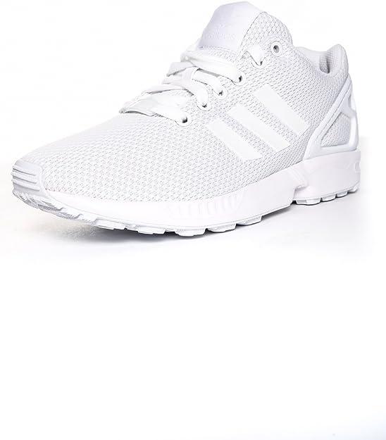 Soldes > adidas zx flux blanche > en stock