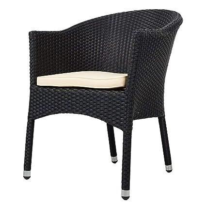 Amazon.com: KARMAS Product sillas de comedor de mimbre PE ...