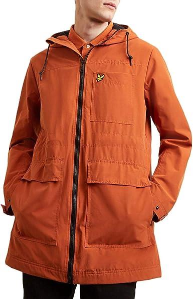 Lyle /& Scott Micro Fleece Lined Abrigo para Hombre