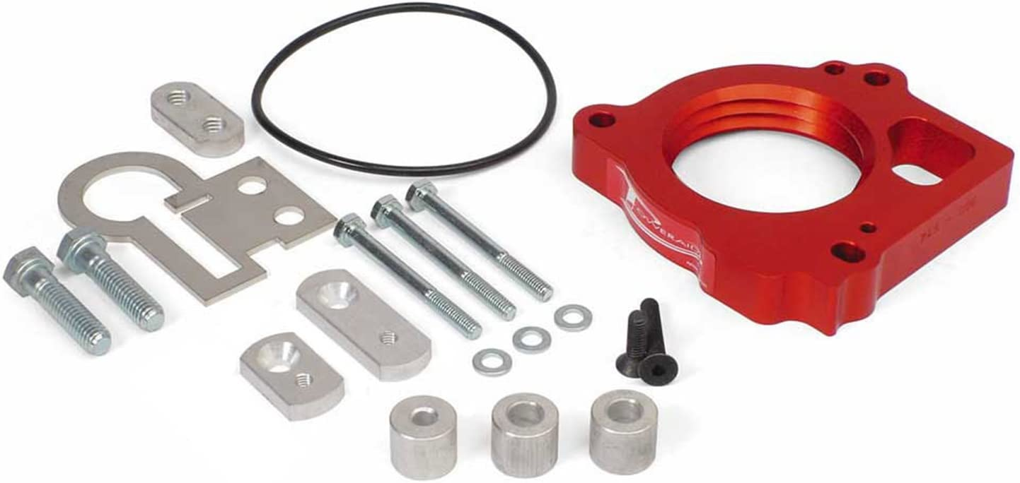 Throttle Body Spacer Easy To Install with Basic Hand Tools Airaid 300-637 PowerAid