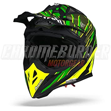 Casco Airoh Aviator 2.2 threat Green Matt tg. m