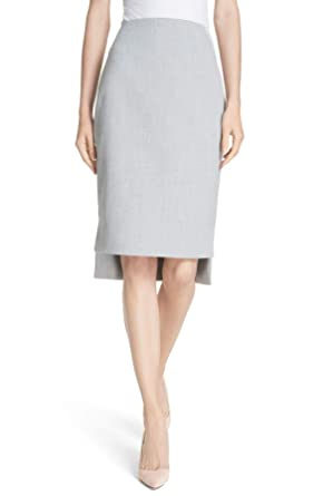 5416b2902fe58 Ted Baker London Grey Ted Working Title Daizis Step Hem Pencil Skirt (2)