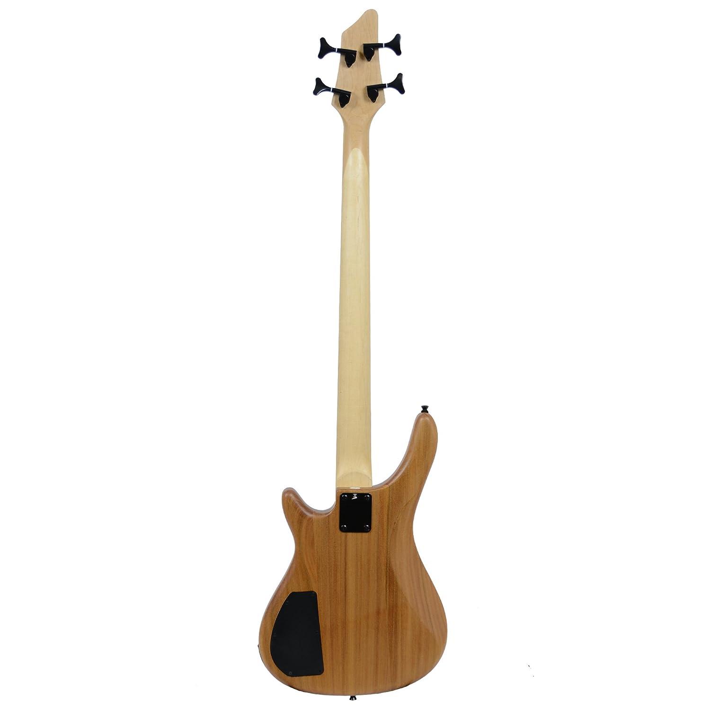 Rocket Music BGFF44N - Bajo Eléctrico (puente fijo, 6 cuerdas): Amazon.es: Instrumentos musicales