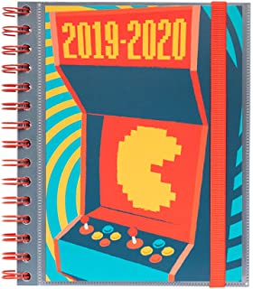 Agenda escolar 2019/2020 día página S Gamer: Amazon.es ...