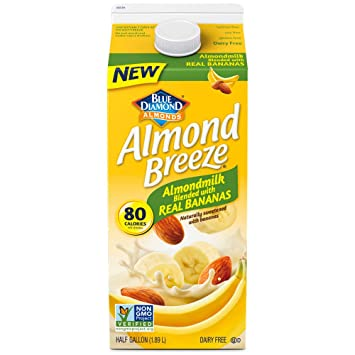 Almond Breeze Original Almondmilk Mezcla con Bananas Reales ...