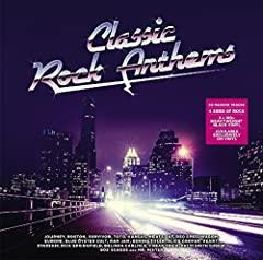Classic Rock Anthems brings together twenty massive tracks from the 70s and 80s onto one album Presented with original gatefold artwork and pressed on 2 x 180g heavyweight Black Double LP Featuring 'Eye Of The Tiger' (Survivor), 'The Final Co...