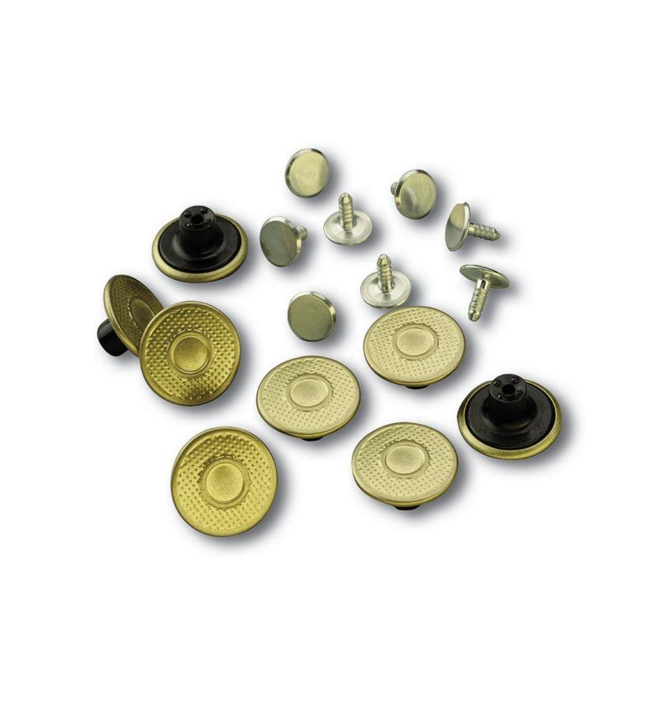 Carhartt Men's A135 Extra Buttons – One Size Fits All – Brass