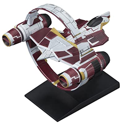 Bandai Vehicle Model 009 Jedi Starfighter Model Kit(Japan Import): Toys & Games