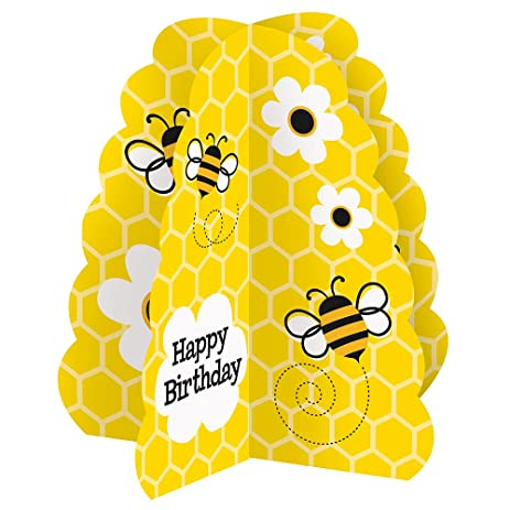 Bumble Bee Birthday Centerpiece Decoration