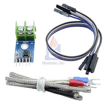 2pcs MAX6675 Module K Type Thermocouple Thermocouple Sensor for Arduino