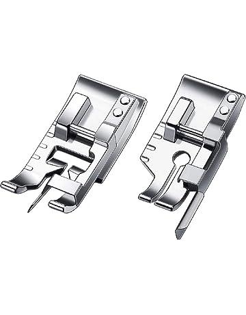 EXCEART Pied-De-Biche Zig Zag Pied /à Bout Ouvert Pied-De-Biche Applique pour Machine /à Coudre