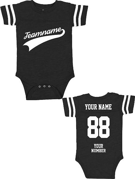 Amazon.com: Jersey de algodón personalizado para bebés ...