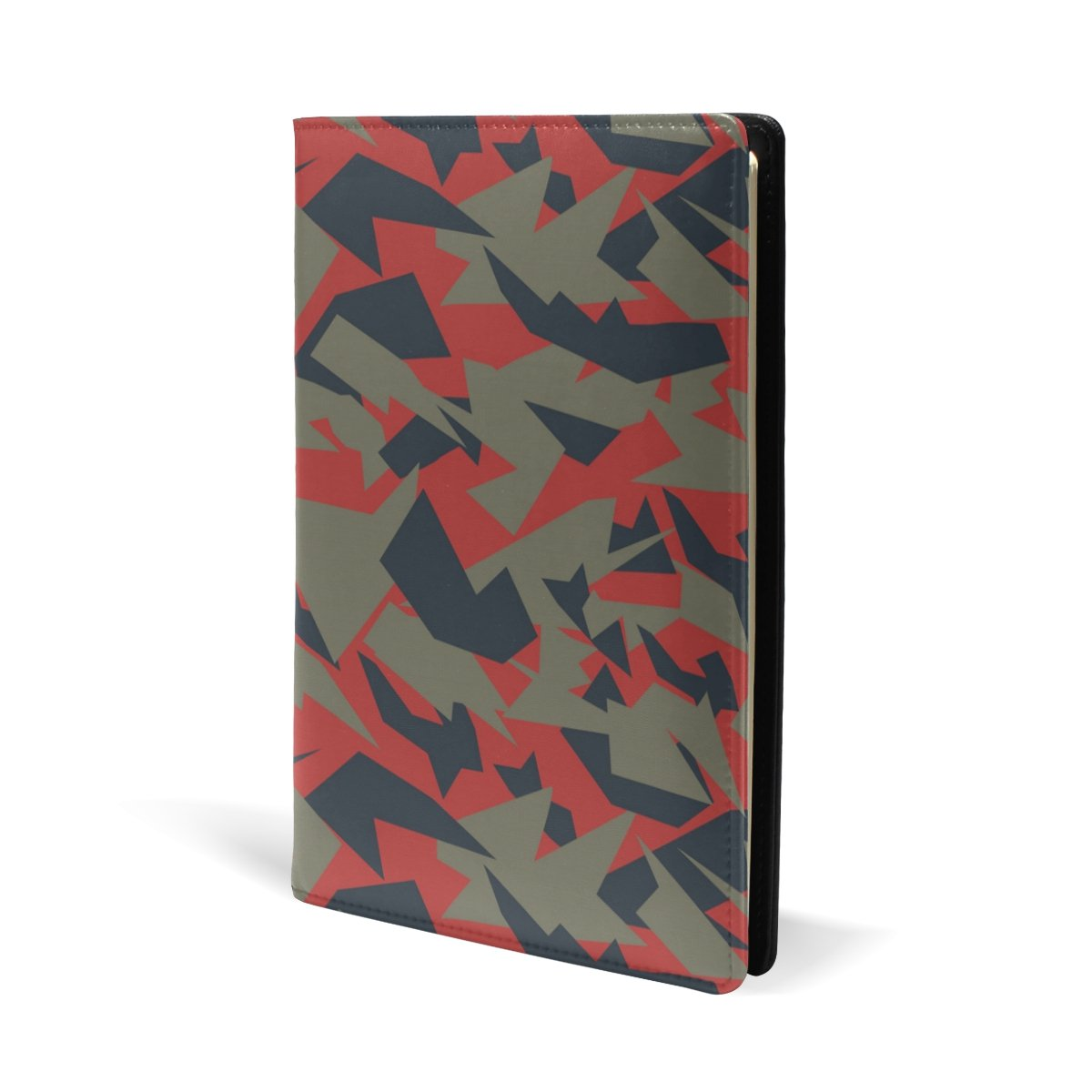 Coosun Textures militaire de camouflage Cuir Couverture de livre livre Sox la plupart des manuels scolaires /à couverture rigide 14,7/x 22,1/cm