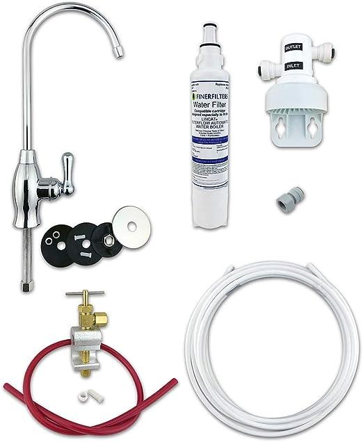 Finerfilters, kit de filtro de agua potable para debajo del ...