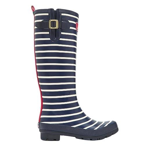Joules Womens/Ladies Printed Waterproof Tall Wellington Boots