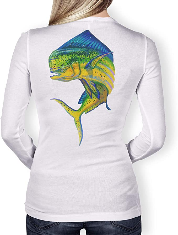 Long Sleeve Fishing T-Shirt for Men and Women UPF 50 Dri-Fit Performance Clothing Southern Fin Apparel