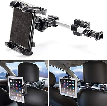 360° Adjustable Car Seat Beak Headrest Mount Bracket Holder for Tablets Phones