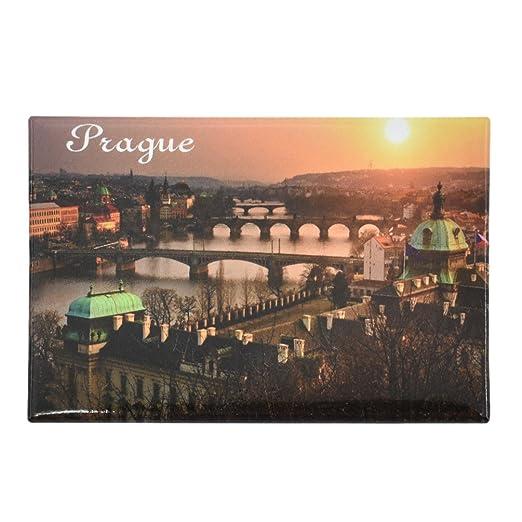 Kesheng Imán para Nevera Prague 8x5.5cm: Amazon.es: Hogar