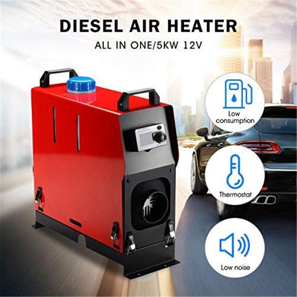 24 V Fernbedienung LCD 10L Tank Diesel Air Fuel Heizung f/ür Lkw Bus Auto Van ETE ETMATE 5KW 12 V