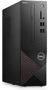 2021 Newest Dell Vostro 3000 SFF Small Business Desktop, Intel Quad-Core i3-10100 3.6Ghz up to 4.3 GHz, 16GB Memory, 512GB SSD, DVD-RW, WiFi, HDMI, VGA, Win10 Pro, Black