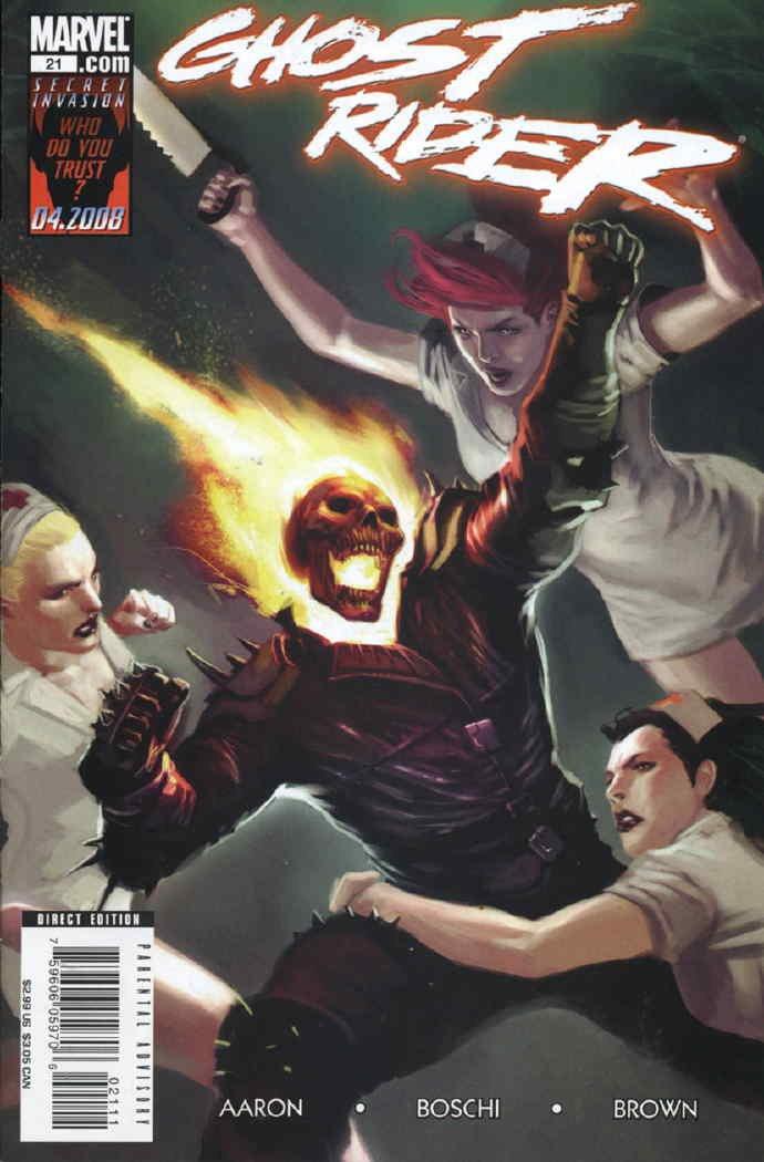 Read Online Ghost Rider (2006-2009 4th Series) # 21 pdf epub