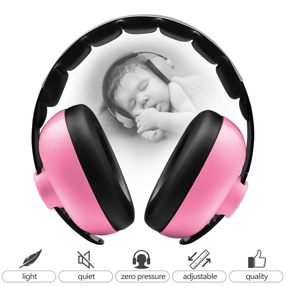 Baby Hearing Protection Earmuffs, Outtybrave Ear Defenders Anti-Noise Sound Amplification Equipment Outtybrave Ear Defenders Anti-Noise Sound Amplification Equipment (Blue)