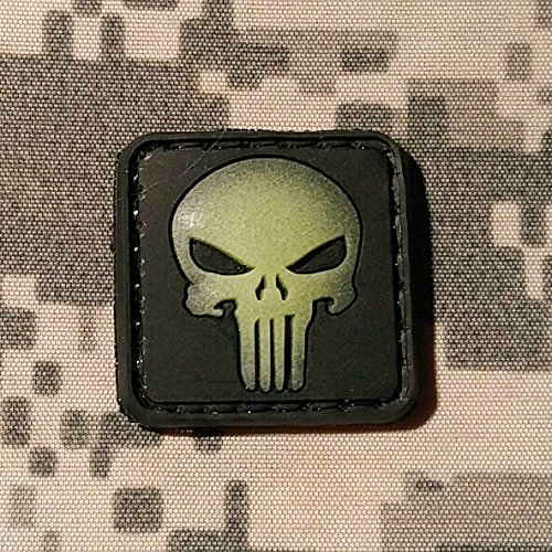 Punisher Ranger Glow Morale Patch