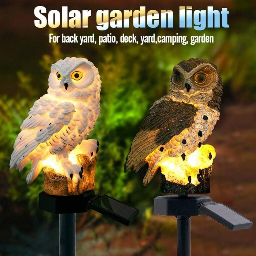 lumi/ères de cha/îne d/éclairage ZUHANGMENG /Énergie solaire lampe de route lumi/ère en forme de hibou boule de jardin d/écoration de jardin en plein air /éclairage de pelouse