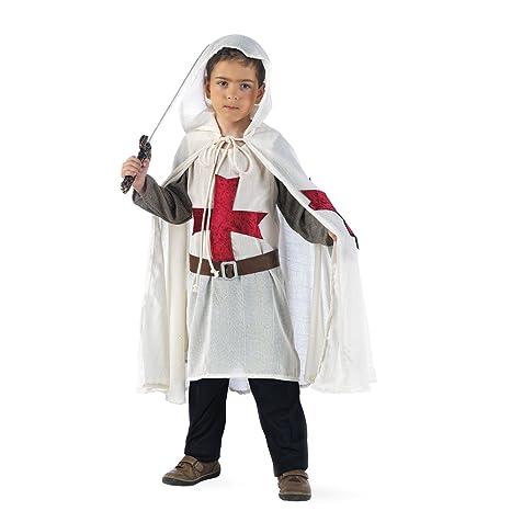 Limit Sport - Disfraz de templario medieval para niño (MI711)